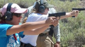 Ladies Pistol